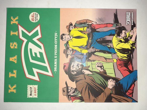 Tex Klasik 17:Drama u Pecos Cityju